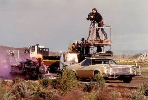 Filming Back To the Future (1990) - Behind the Scenes photos
