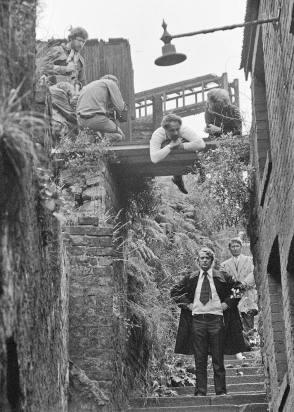 On Set of Get Carter (1971)