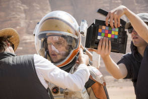 On Location : The Martian (2015) - Behind the Scenes photos