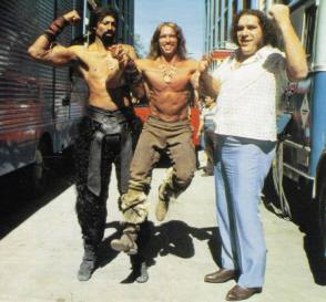 On Set of Conan the Destroyer (1984) - Behind the Scenes photos