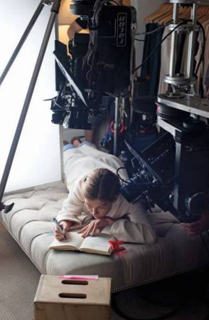Filming Gone Girl (2014) - Behind the Scenes photos