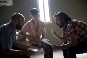 A Discussion At a Dark Place - Behind the Scenes photos