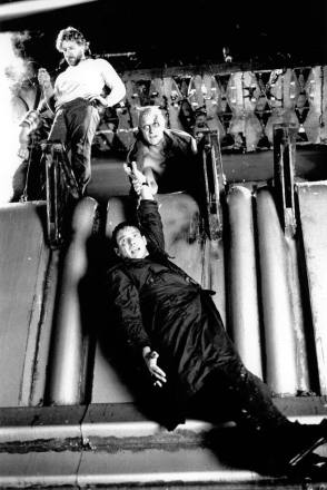 On Set of Blade Runner (1982)