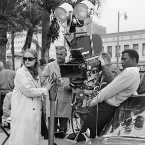 On Location : A Patch of Blue (1965) - Behind the Scenes photos