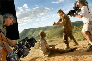 Filming Blood Diamond (2006) - Behind the Scenes photos