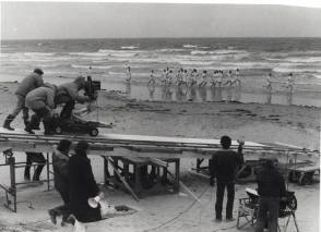 Filming Chariots of Fire (1981) - Behind the Scenes photos