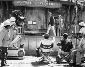 Filming The Wild Bunch (1969) - Behind the Scenes photos