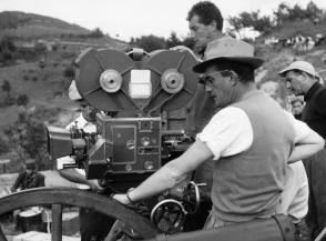 Filming Senso (1954) - Behind the Scenes photos
