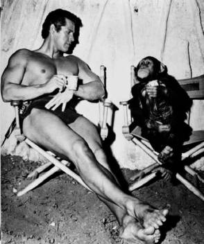 On the Set of Tarzan the Magnificent (1960) - Behind the Scenes photos