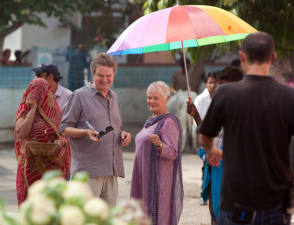 On the Set of The Best Exotic Marigold Hotel (2012)