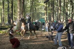 Filming The Chronicles of Narnia: Prince Caspian (2008) - Behind the Scenes photos