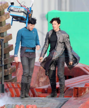 On Location : Star Trek Into Darkness (2013) - Behind the Scenes photos