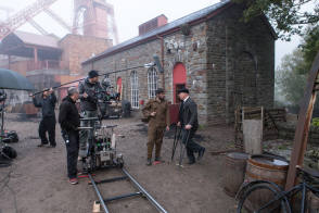 Filming Lady Chatterley's Lover (2015) - Behind the Scenes photos