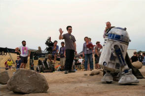 On Location – Star Wars: The Force Awakens (2015) - Behind the Scenes photos