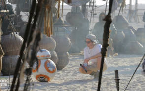 JJ with BB8