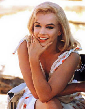 MM in The Misfits (1961) - Behind the Scenes photos
