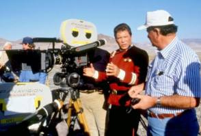 On Set of Star Trek V: The Final Frontier (1989)