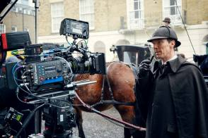 Benedict as Sherlock Holmes - Behind the Scenes photos