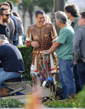 George Clooney in Hail Ceaser (2016) - Behind the Scenes photos