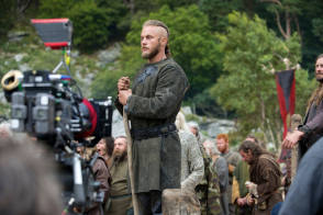 Travis Fimmel in Vikings (2012) - Behind the Scenes photos