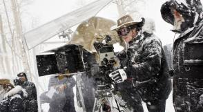 Shooting in Snow - Behind the Scenes photos