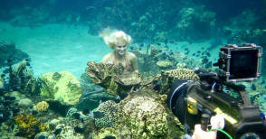 Underwater Scenes - Behind the Scenes photos