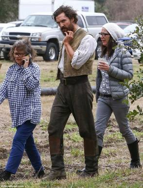 Matthew in Free State of Jones (2016) - Behind the Scenes photos