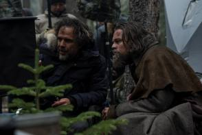 On Set of The Revenant (2015)