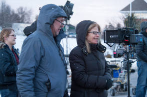 On Set of Love the Coopers (2015) - Behind the Scenes photos