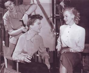 Anne and Marilyn - Behind the Scenes photos