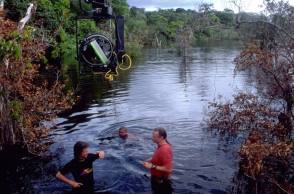 On Set of Anaconda (1997) - Behind the Scenes photos