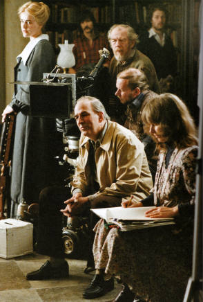 On Set of Fanny and Alexander (1982) - Behind the Scenes photos