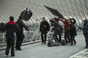Filming The Fifth Estate (2013) - Behind the Scenes photos