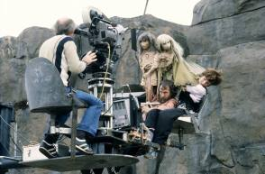 Filming The Dark Crystal (1982) - Behind the Scenes photos