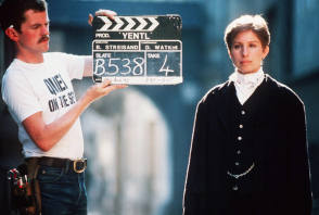Filming Yentl (1983) - Behind the Scenes photos