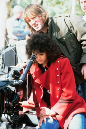 On Location : Flashdance (1983) - Behind the Scenes photos