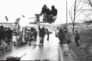 Filming Hoffa (1992) - Behind the Scenes photos