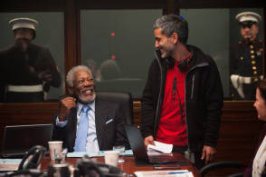On Set of London Has Fallen (2016) - Behind the Scenes photos
