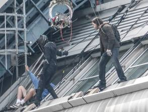 Stuntmen in Action - Behind the Scenes photos