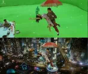 The Power of Visual Effects ! - Behind the Scenes photos