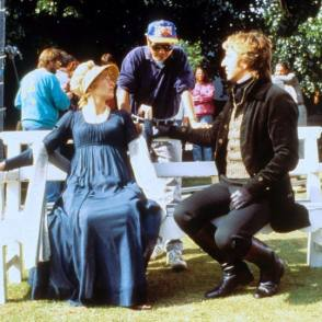 On Location : Sense and Sensibility (1995) - Behind the Scenes photos