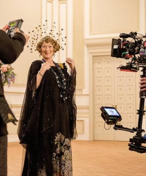 Meryl as Florence Foster Jenkins - Behind the Scenes photos