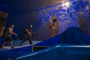 Filming The Jungle Book (2016) - Behind the Scenes photos