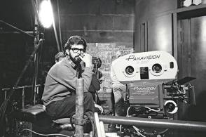 The Iconic Director, George Lucas - Behind the Scenes photos