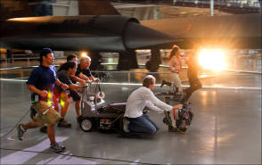 Filming Transformers: Revenge of the Fallen (2009) - Behind the Scenes photos