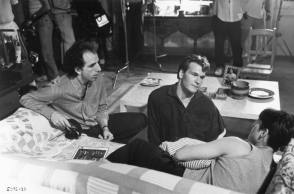 On Set of Ghost (1990) - Behind the Scenes photos