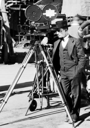 Buster Keaton : The Cameraman (1928) - Behind the Scenes photos
