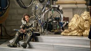 On Set of Warcraft (2016)