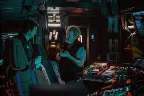 On Set of Alien: Covenant (2017) - Behind the Scenes photos