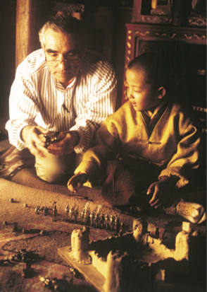 On the Set of Kundun (1997)